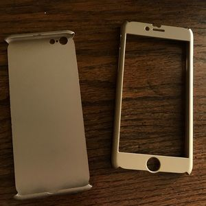 Gold iPhone 6 or 6S case